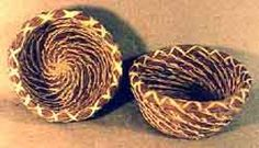How to make Pine Needle Baskets
