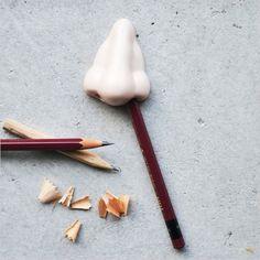 Nose Pencil Sharpener