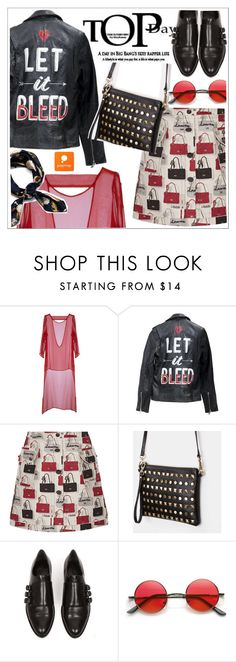 """""""Popmap"""" by teoecar ❤ liked on Polyvore featuring Lanvin, Alexander Wang and popmap"""