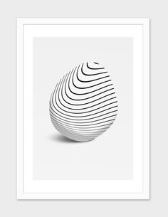 """form11"", Numbered Edition Fine Art Print by Malay bargali - From $25.00 - Curioos"