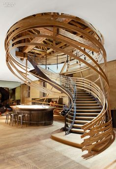 Amedeo Liberatoscioli: The winners of the 2014 Restaurant and Bar Design Awards : Brasserie Les Harasa