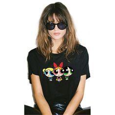 Power Puff Girls t-shirt – iawear Stylish Outfits, Cute Outfits, Fashion Outfits, Stylish Clothes, Fashion Face, Kids Fashion, Power Puff Girls Bubbles, Printed Shirts, Tee Shirts