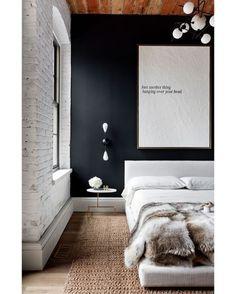 Sag Harbor by Tamara Magel Studio  #tamaramagelstudio #newyork #industrial #apartment #bedroom #interior #interiors #interiordesign #design #architecture