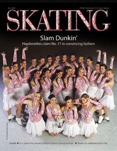 Haydenettes, National Champions, Synchronized Skating, Skating Magazine