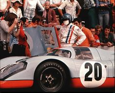 """Steve McQueen as Michael Delaney in the 1971 movie """"Le Mans"""""""