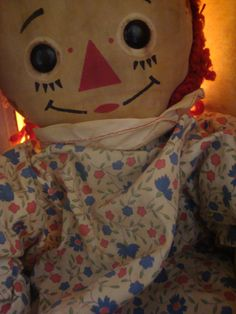 Raggedy Ann -- i love her :) Still have mine from when I was little.