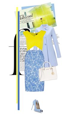 """""""number 61"""" by a-lannah ❤ liked on Polyvore featuring John Lewis, River Island, Giuseppe Zanotti, MICHAEL Michael Kors and French Connection"""