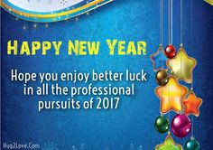 new year wishes to employees from Boss
