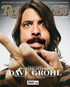 I primi 100 numeri di Rolling Stone N°91 - Intervista a @FooFightersDave #DaveGrohl, maggio 2011
