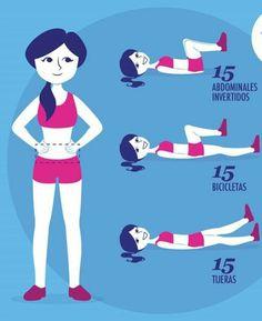 Conoce esta #excelente rutina para #abdomen. Estos #ejercicios marcarán la diferencia. #EjerciciosParaAbdomen #EjerciciosEn Casa #BajarDePeso #Adelgazar #Salud