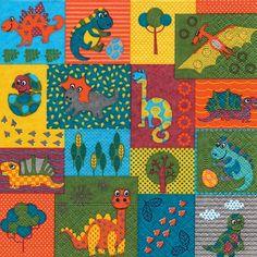 3298 g Servilleta decorada infantil