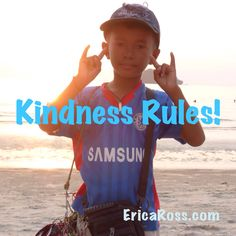 Be kind.   Check out www.EricaRoss.com