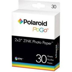 Polaroid PoGo Media 30 Baskı Kağıtları Sadece 51.43TL. Üstelik Kapıda Ödeme ve Kredi Kartına Taksit Avantajı İle