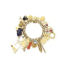 Elizabeth Taylor gold charm bracelet sold for $194,000