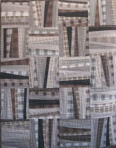 """A Bit Askew"", 40"" x 50"", by Michelle Dunn of Kallisti Quilts"