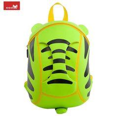 2fa4d04153e7 NOHOO 3D Cartoon Children School Bags Waterproof Fashion Small Tiger Shape  Backpacks Cute Animals Kids Baby Bags for Girls