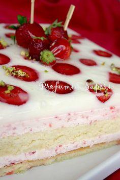 Profumi&Sapori: Torta giardino di fragole di Luca Montersino