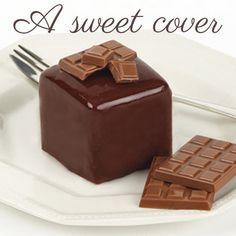 Schaffen Sie einen herrlich schokoladigen Überzug mit diesem Pulver für flüssigen Fondant. #Fondant