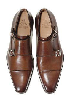 Paul Stuart Double Monk Straps...one dope shoe...
