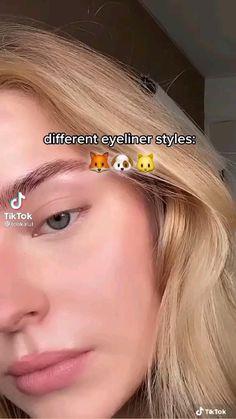 Edgy Makeup, Makeup Eye Looks, Pretty Makeup, Skin Makeup, Puppy Eyes Makeup, Simple Makeup Looks, Eye Makeup Art, Makeup Tutorial Eyeliner, Makeup Looks Tutorial