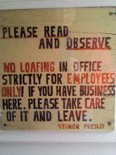 Graceland...Vernon's office