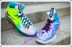 Nike LeBron X 10s What the LeBron