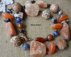 "Chaplet ""Africa"" by SemipreciousSongs on Etsy"