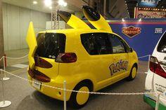 """Coches """"Pokemon"""" de Toyota"""