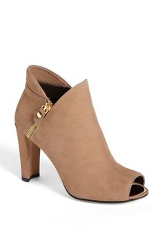 a34ec7d0a2b Have a look at the super stylish pair of  Jump  Peep-Toe Booties by Stuart  Weitzman! Bootie BootsShoe BootsWomen s ...