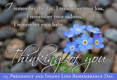 October 15 is Pregnancy and Infant Loss Remembrance Day