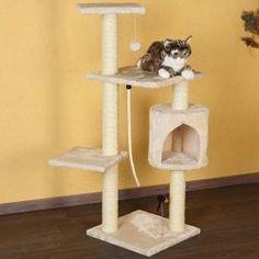 Kissan kiipeilypuu leluilla 112 cm, 79,95€. Sisäkissoille kiipeilypuu on tarvittava. Puun avulla kissaystäväsi voi teroittaa kyntensä siihen eikä esimerkiksi huonekaluihin. #kiipeilypuu Toilet Paper, Toilet Paper Roll