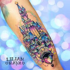 Likes, 64 Comments - Disney Tattoos Worldwide ( on Instag. Girly Tattoos, Love Tattoos, Beautiful Tattoos, New Tattoos, Body Art Tattoos, Kawaii Tattoos, Cartoon Tattoos, Tattoo Art, Tattoo Quotes