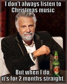 Christmas music is coming...