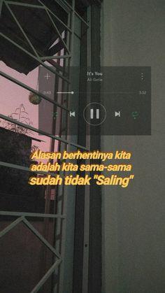 Quotes Rindu, Tumblr Quotes, Short Quotes, Qoutes, Conversation Quotes, Quotes Galau, Self Reminder, Quotes Indonesia, Aesthetic Pictures