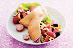 Kijk wat een lekker recept ik heb gevonden op Allerhande! Griekse salade met radijs en paprika