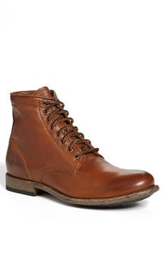Free shipping and returns on Frye 'Tyler' Plain Toe Boot (Men) at Nordstrom.com. A sleek profile ensures versatility in a handsome boot crafted from vegetable-tanned, burnished leather that develops a rich patina over time.