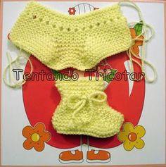 Sapatinho Aladim Baby Hat Knitting Pattern, Baby Hats Knitting, Knitting Socks, Knitted Hats, Knitting Patterns, Knit Baby Shoes, Crochet Baby Jacket, Crochet Baby Booties, Crochet Bikini