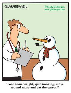 How Snowmen Get Fit