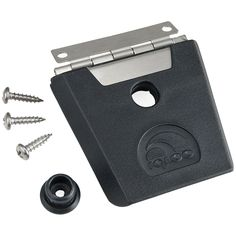 a591729ef91 Igloo Hybrid Stainless and Plastic Latch L x W x D Inches) - Black/Silver:  This