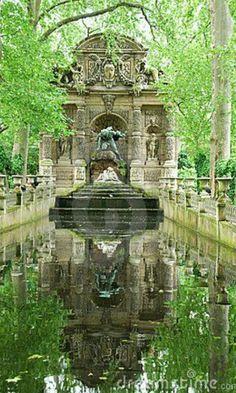 Jardines de Luxemburgo.Paris.