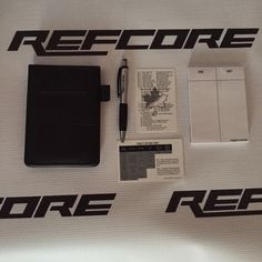 REFcore™ RiotPad  - Original  Hockey referee riot pad or note pad. Complete with…