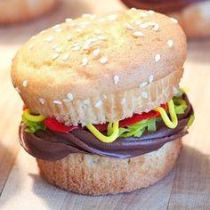 Cupcake burger!