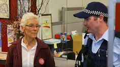 WHEN 70-year-old Catholic nun Sister Jane Keogh was arrested and led to a paddy wagon by eight federal police officers in Canberra yesterday, she wasn't surprised. In fact she was disappointed the matter didn't go further.