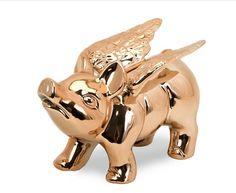 Adorable flying piggy bank, $20 http://osky.co/yezSsP