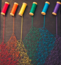 Creative string art