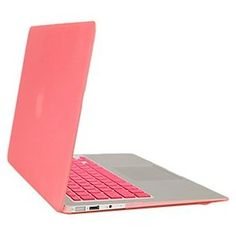 Amazon.com: Gearonic Rubberized PC Hard Case with Keyboard Cover and Screen Protector for 13-Inch Macbook Air, Pink (5082PPUIB): Computers & Accessories $18.99