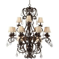 Lovely chandelier.  Looks like empire style.  Come see ours at http://www.artisanlamp.com