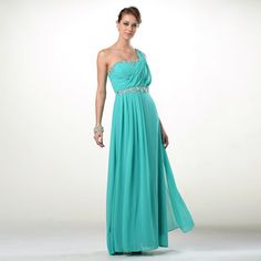 Buy 'YesStyle Dress – One-Shoulder Jeweled A-Line Evening Gown' with Free International Shipping at YesStyle.com. Browse and shop for thousands of Asian fashion items from Hong Kong and more!
