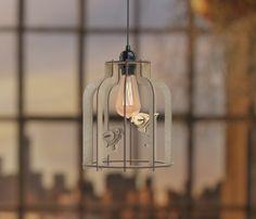 Tori Birdcage Lamp large