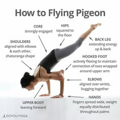 How to flying pigeon